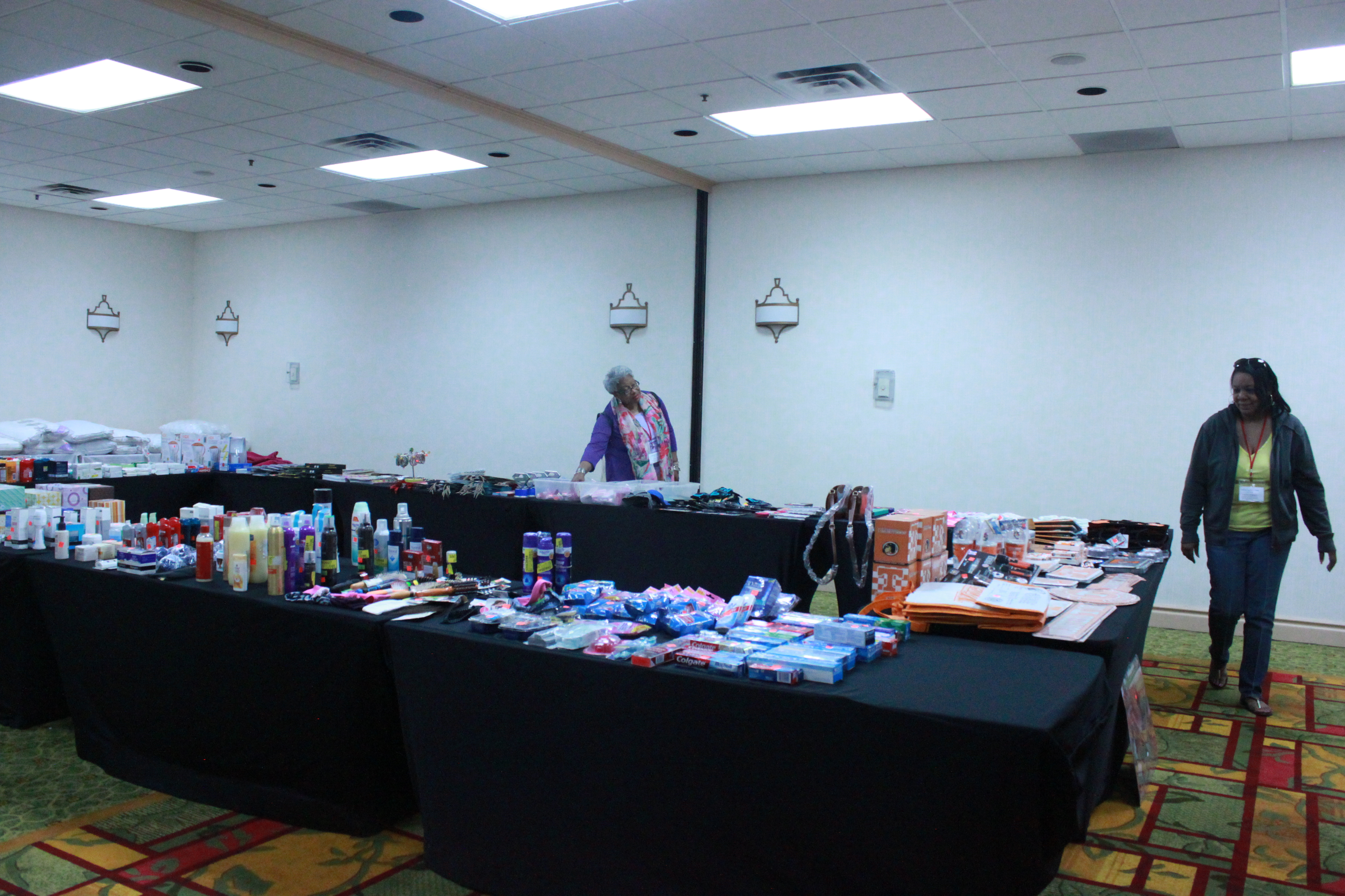 TCAC Depot at the conference