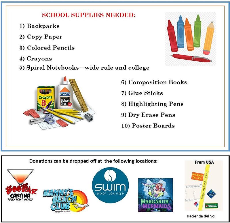 School Supply WIsh List Flyer 2020 revis