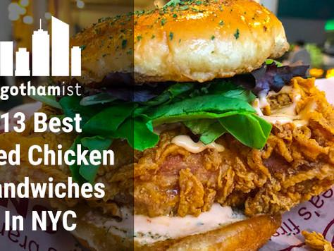 13 BEST FRIED CHICKEN SANDWICHES IN NYC