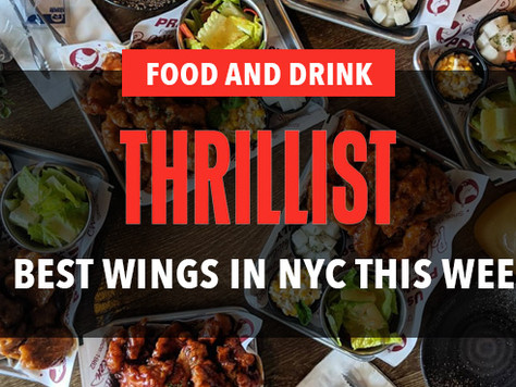 Featured as NYC's Best Wing