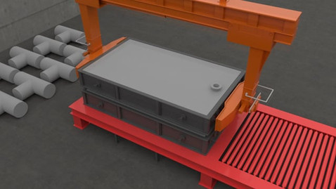 Foundry Process | 3D Animation | Saudi