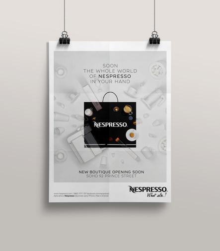 Nespresso Opening Campaign