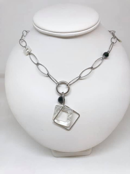 collier Nona zilver