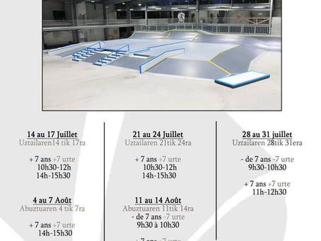 Stage de Skateboard été 2020