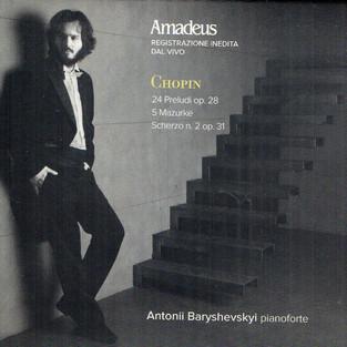 Chopin – 24 Preludi Op. 28, 5 Mazurke, Scherzo N. 2 Op. 31