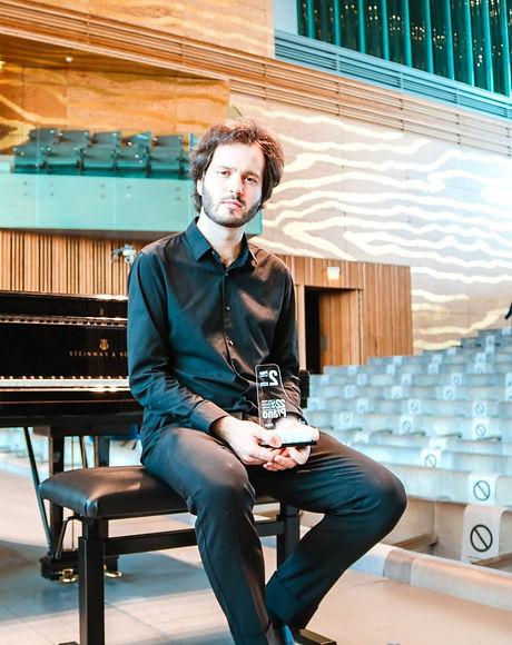 Baryshevskyi_Santa Cecilia Piano Competition