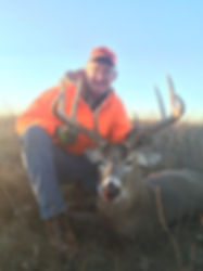 Whitetail deer hunting in North Dakota
