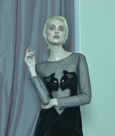 Make up Artist, Hairstylist: Alessandra Semisa  Photographer: Luca Di Fazio  Stylist: Veronica Bergamini  Model: Vicky @ No Logo