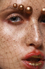 Make up Artist, Hairstylist: Alessandra Semisa  Photographer: Ayla Starace  Model: Joanna @ 2morrow