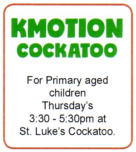 kmotion cockatoo