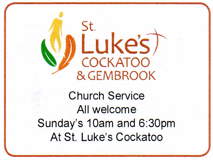 St.Luke's Cockatoo