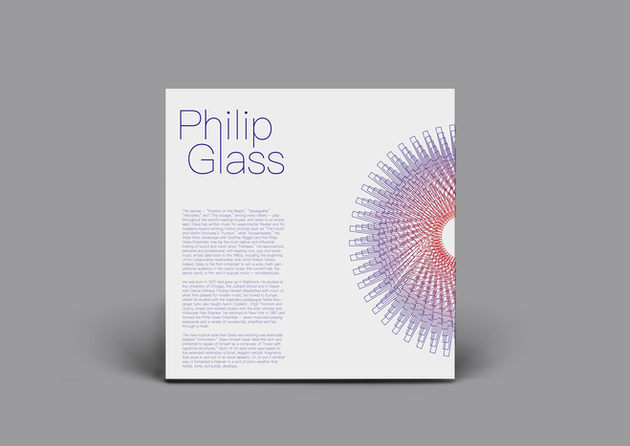 Philip Glass Vinyl Cover