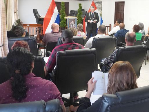 14 civil servants take the oath of office