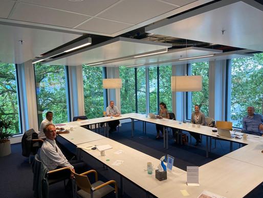 Delegation takes part in workshop, meetings