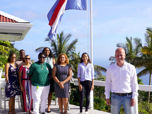 Saba's Youth Council meet State Secretary Knops