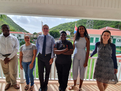 Youth Council speaks with Island Governor about alcohol and minors