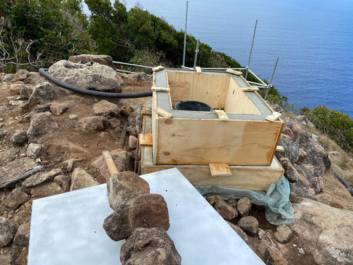 Construction new KNMI monitoring station well on its way