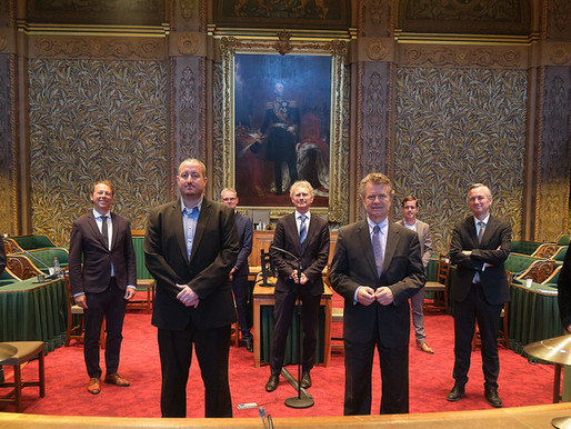 Saba delegation presents issues of importance to Dutch Parliament
