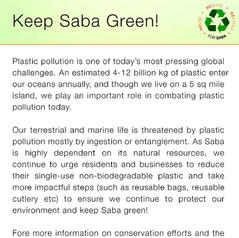 Keep Saba Green