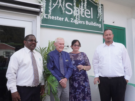 Satel building renamed after telecommunications icon Chester Zagers