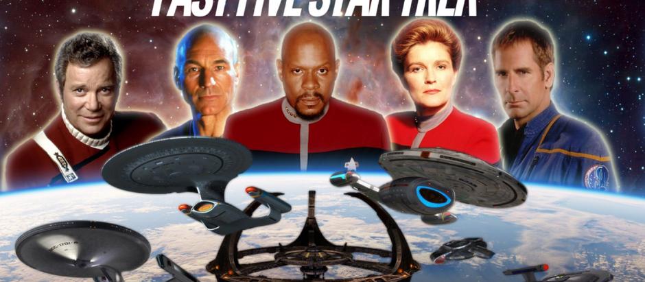 Fast Five Star Trek