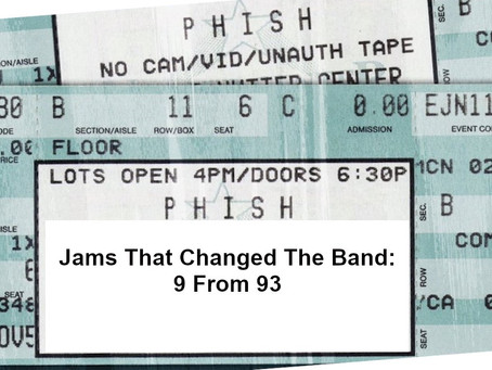 Jams That Changed the Band: 9 Jams from '93