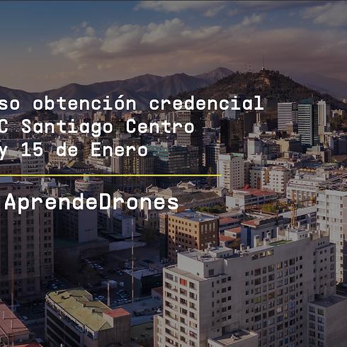Obtención credencial DGAC Santiago Centro 14 y 15 de Enero