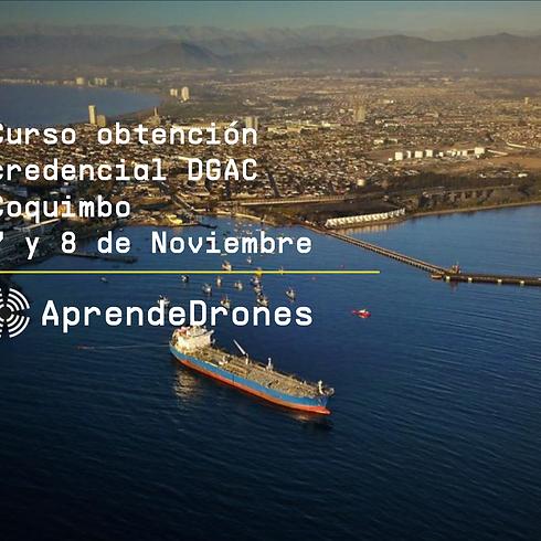 Obtención credencial DGAC Coquimbo 07 y 08 de Noviembre