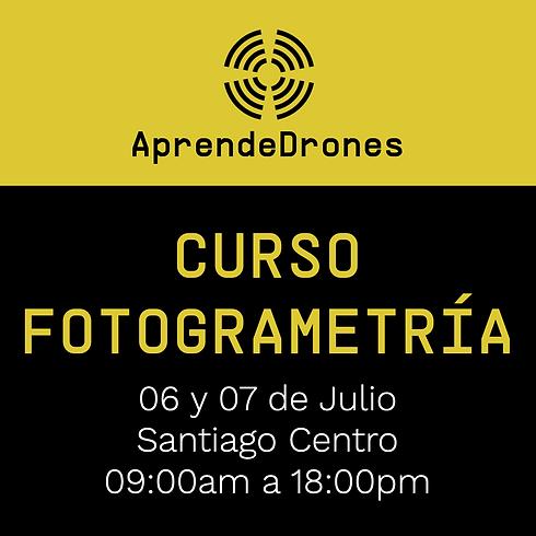 Fotogrametría RPAS Santiago Centro 06 y 07 de Julio