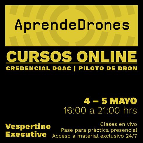 Obtención credencial DGAC ONLINE 04 y 05 de Mayo Vespertino