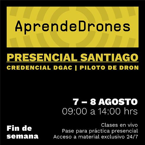 Obtención credencial DGAC Santiago Centro 07 y 08 de AGOSTO Presencial