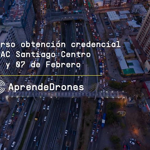Obtención credencial DGAC Santiago Centro 06 y 07 de Febrero