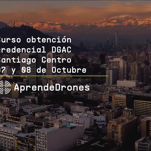 Obtención credencial DGAC Santiago Centro 07 y 08 de Octubre