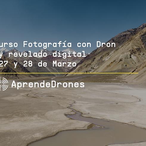 Fotografía con Dron y Revelado Digital Santiago Centro 27 y 28 de Marzo