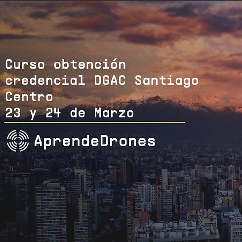 Obtención credencial DGAC Santiago Centro 23 y 24 de Marzo