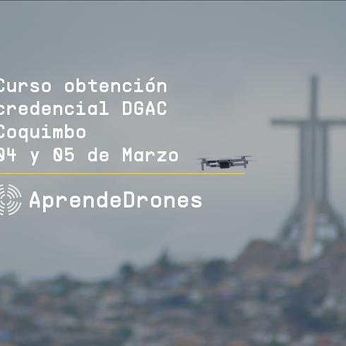 Obtención credencial DGAC Coquimbo 04 y 05 de Marzo