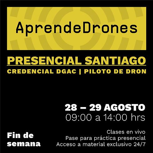 Obtención credencial DGAC Santiago Centro 28 y 29 de AGOSTO Presencial