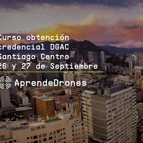 Obtención credencial DGAC Santiago Centro 26 y 27 de Septiembre