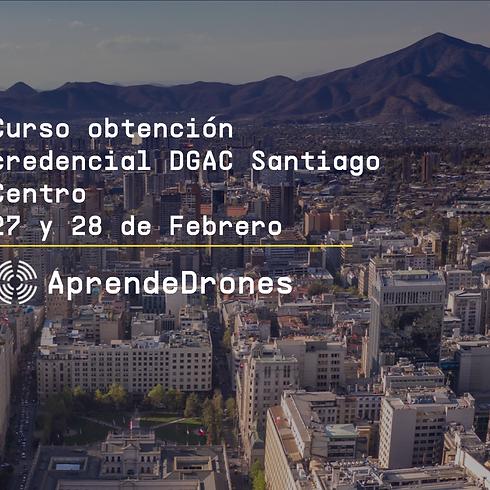 Obtención credencial DGAC Santiago Centro 27 y 28 de Febrero