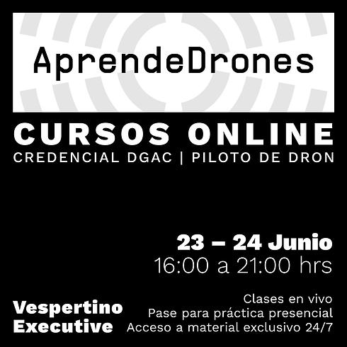 Obtención credencial DGAC ONLINE 23 y 24 de JUNIO Vespertino