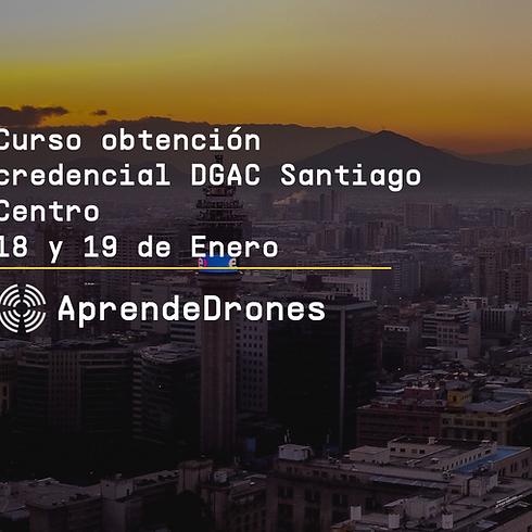 Obtención credencial DGAC Santiago Centro 18 y 19 de Enero