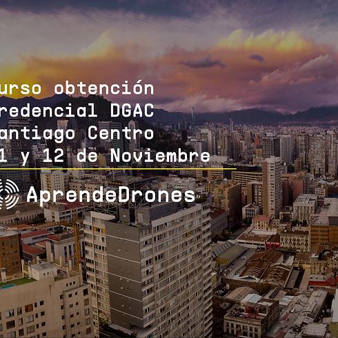 Obtención credencial DGAC Santiago Centro 11 y 12 de Noviembre
