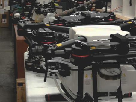 Drones en la pandemia del COVID-19 ¿Un gran paso para la industria?