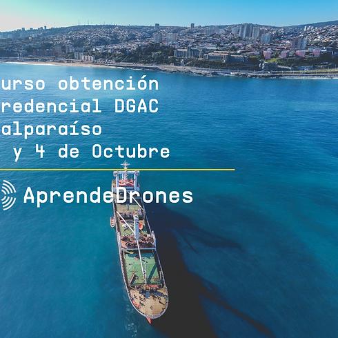 Obtención credencial DGAC Valparaíso 03 y 04 de Octubre