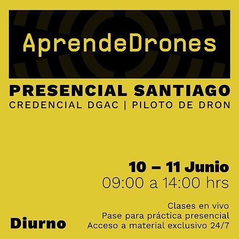Obtención credencial DGAC Santiago Centro 10 y 11 de JUNIO