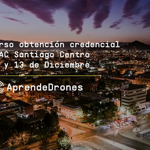 Obtención credencial DGAC Santiago Centro 12 y 13 de Diciembre