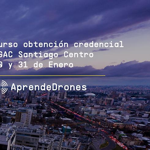 Obtención credencial DGAC Santiago Centro 30 y 31 de Enero