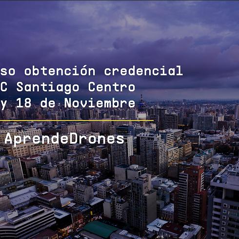 Obtención credencial DGAC Santiago Centro 17 y 18 de Noviembre