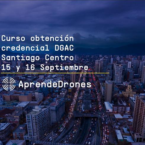Obtención credencial DGAC Santiago Centro 15 y 16 de Septiembre