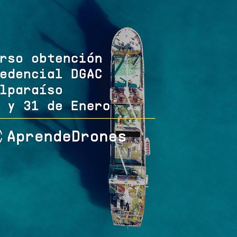 Obtención credencial DGAC Valparaíso 30 y 31 de Enero